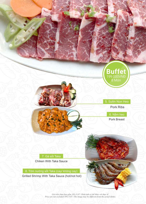 Menu Taka BBQ – Nguyễn Gia Trí 12