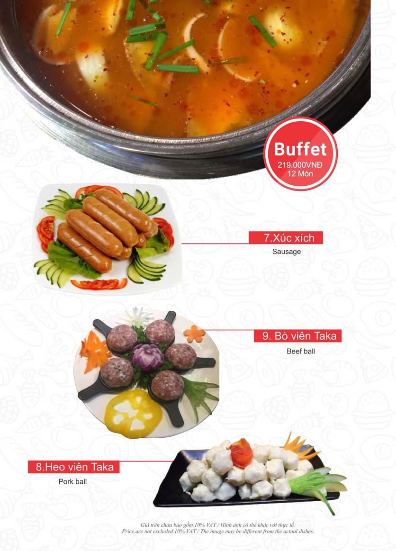 Menu Taka BBQ – Nguyễn Gia Trí 13