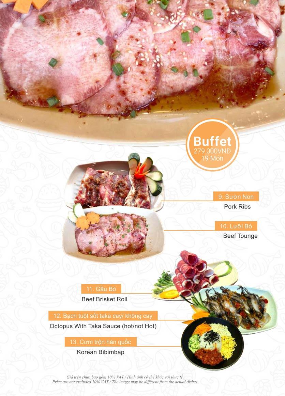Menu Taka BBQ – Nguyễn Gia Trí 21