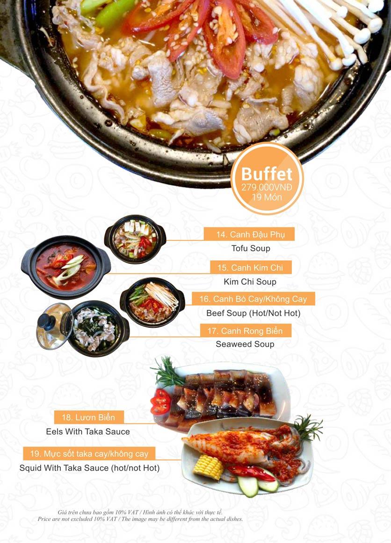 Menu Taka BBQ – Nguyễn Gia Trí 22