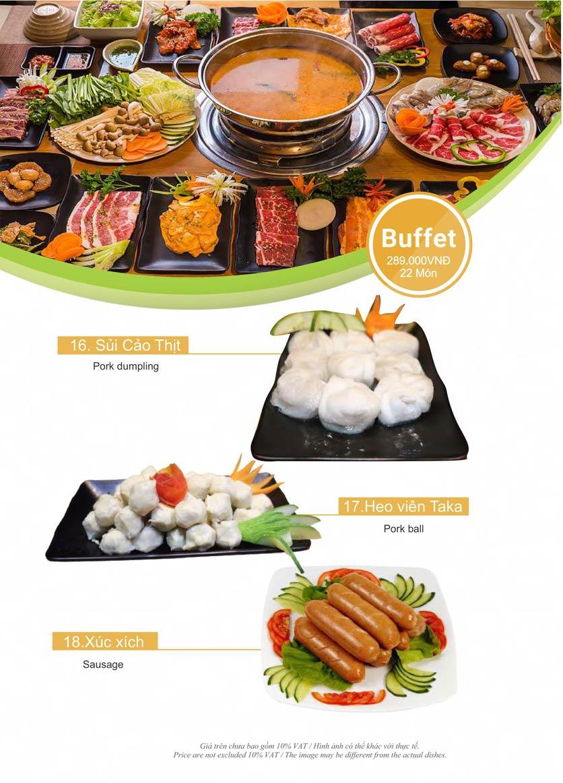 Menu Taka BBQ – Nguyễn Gia Trí 29