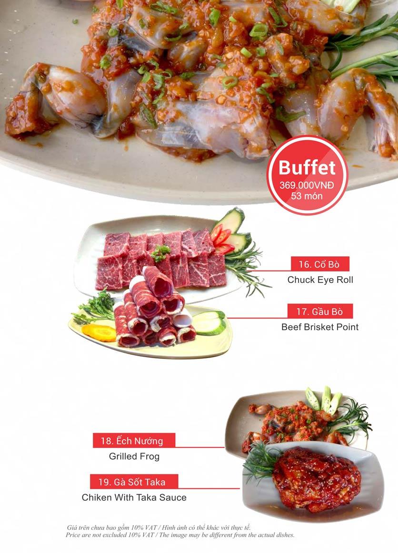 Menu Taka BBQ – Nguyễn Gia Trí 37