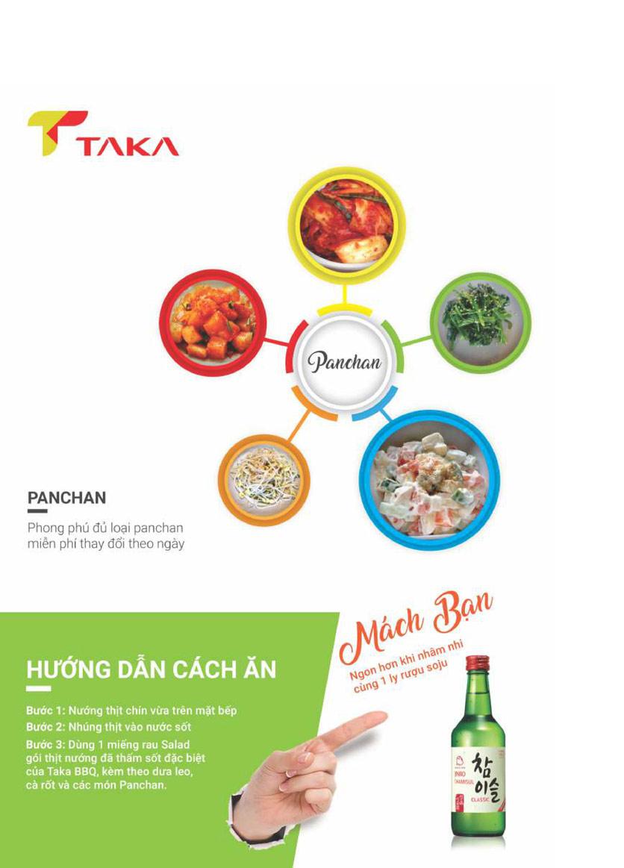 Menu Taka BBQ – Nguyễn Gia Trí 9