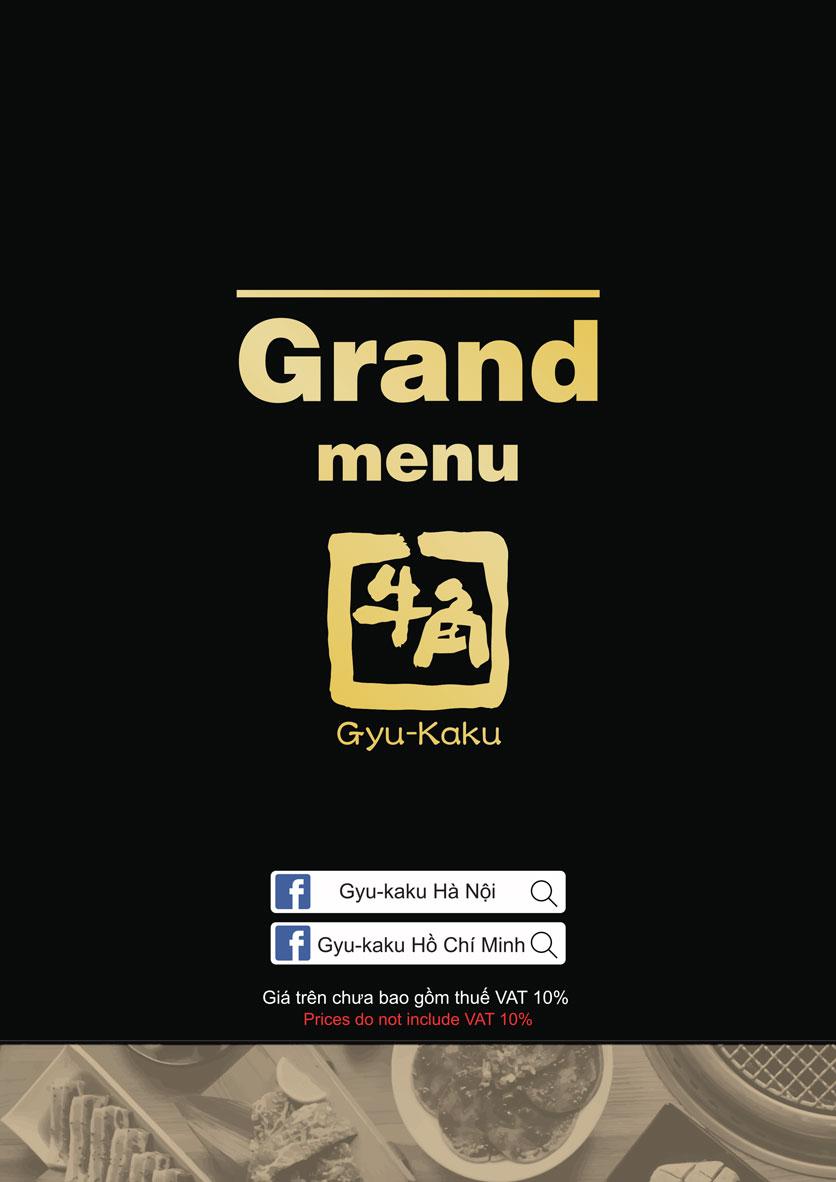 Menu Gyu-Kaku - Kim Mã 5