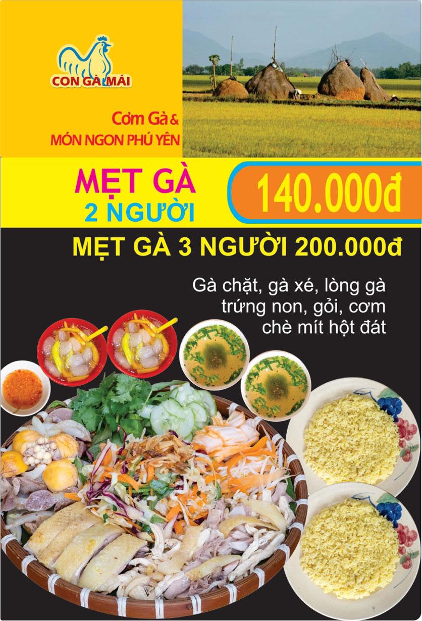 Menu Con Gà Mái - Quang Trung 1