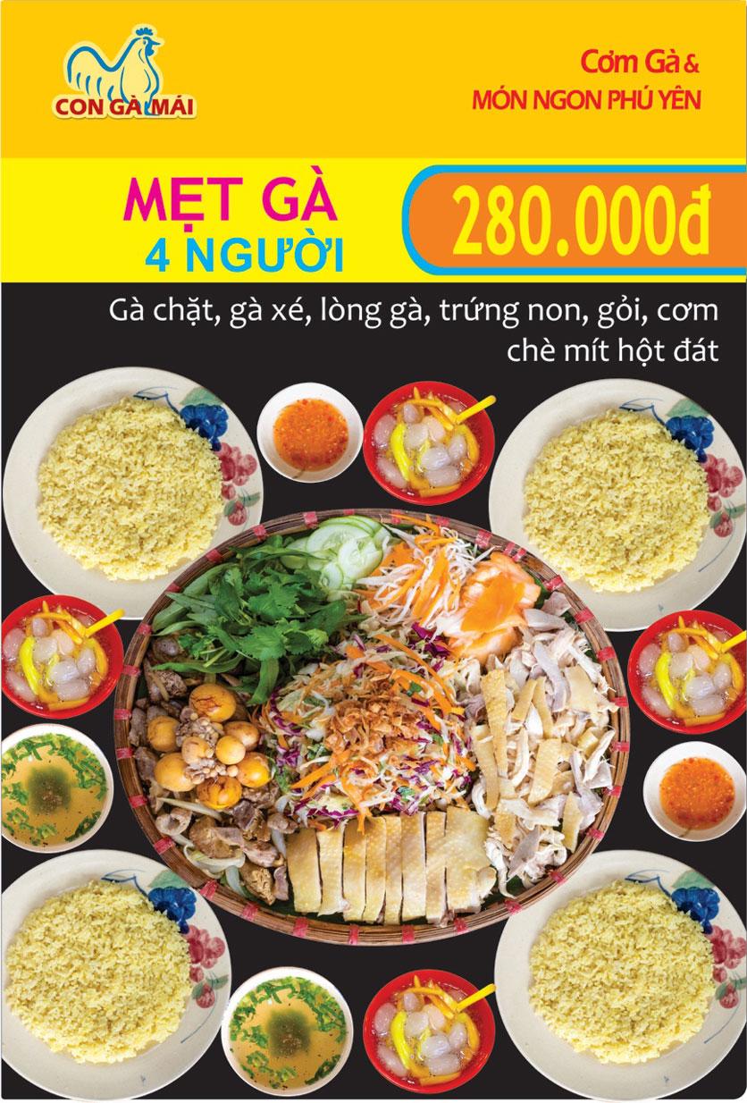 Menu Con Gà Mái - Quang Trung 2