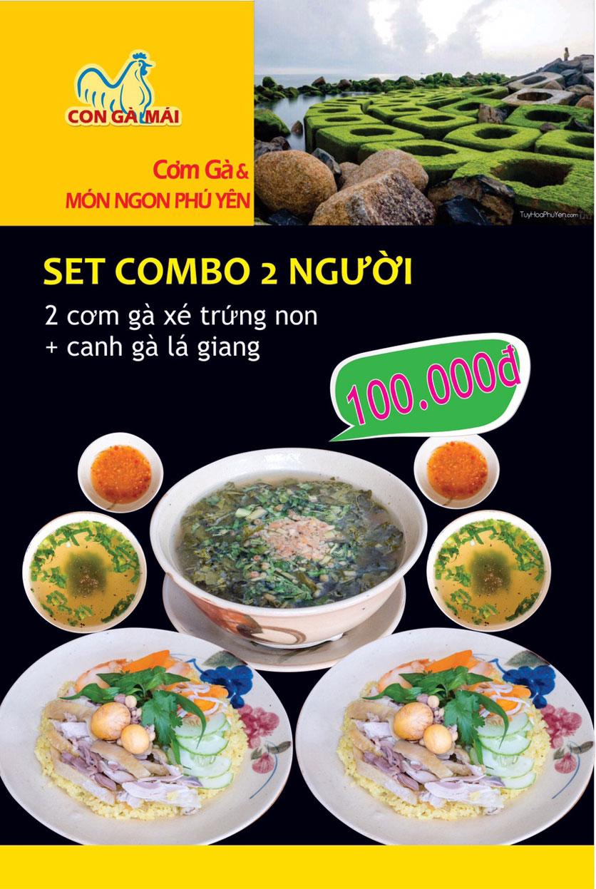 Menu Con Gà Mái - Quang Trung 4