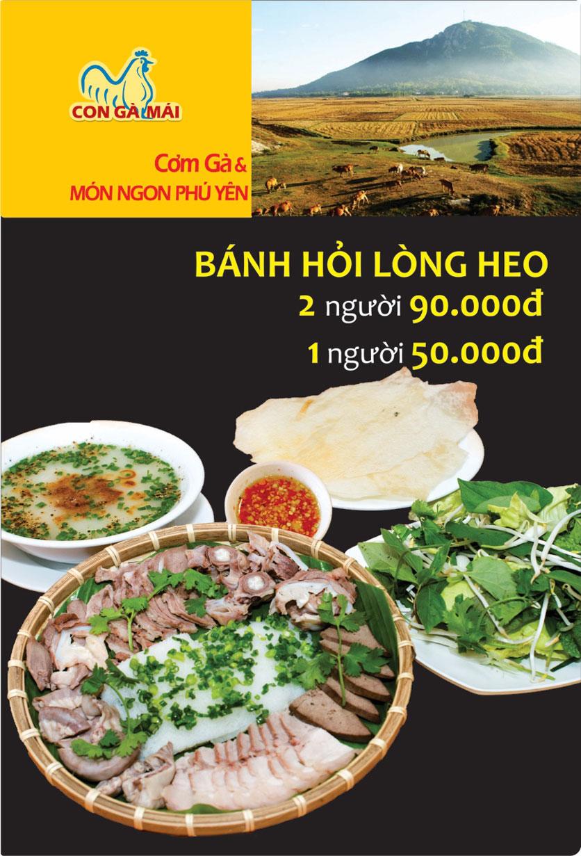 Menu Con Gà Mái - Quang Trung 5