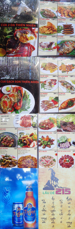 Menu Út Cà Mau - Nguyễn Thị Minh Khai 1
