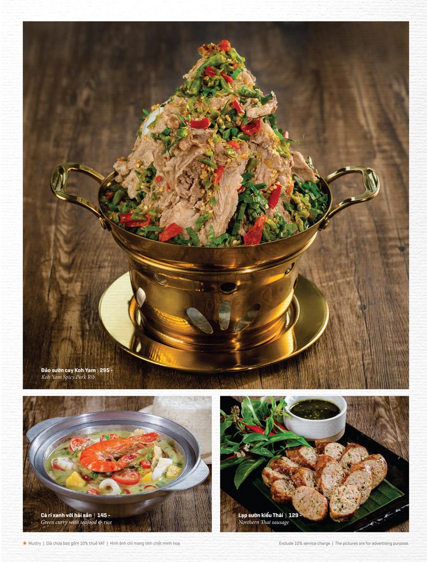 Menu Bếp Thái Koh Yam - Thái Hà 14