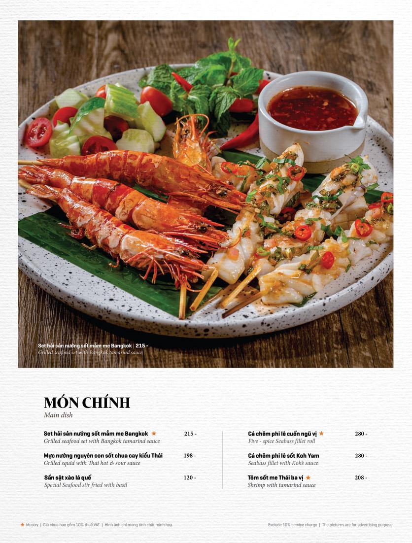 Menu Bếp Thái Koh Yam - Thái Hà 15
