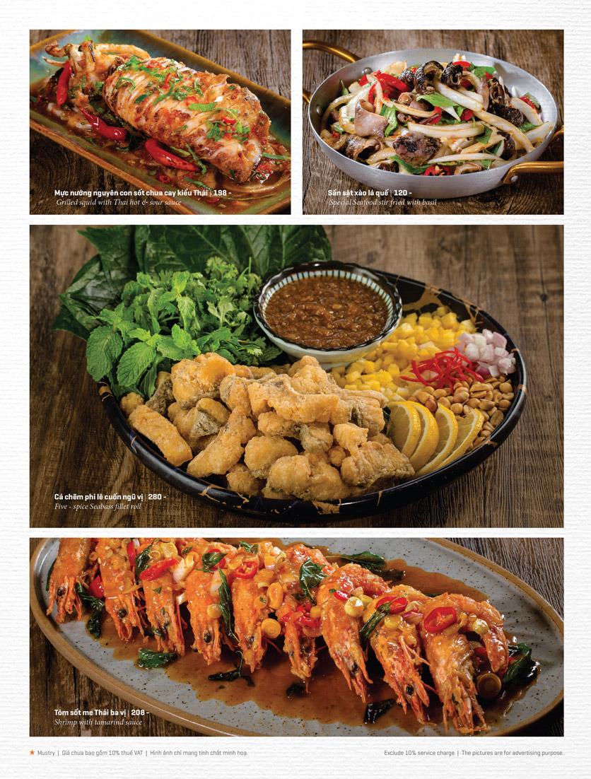 Menu Bếp Thái Koh Yam - Thái Hà 16