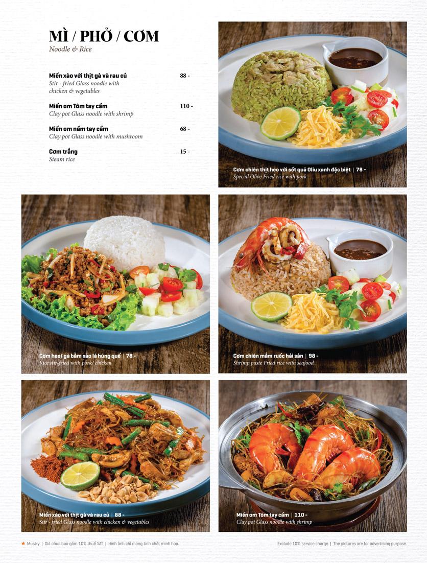 Menu Bếp Thái Koh Yam - Thái Hà 22