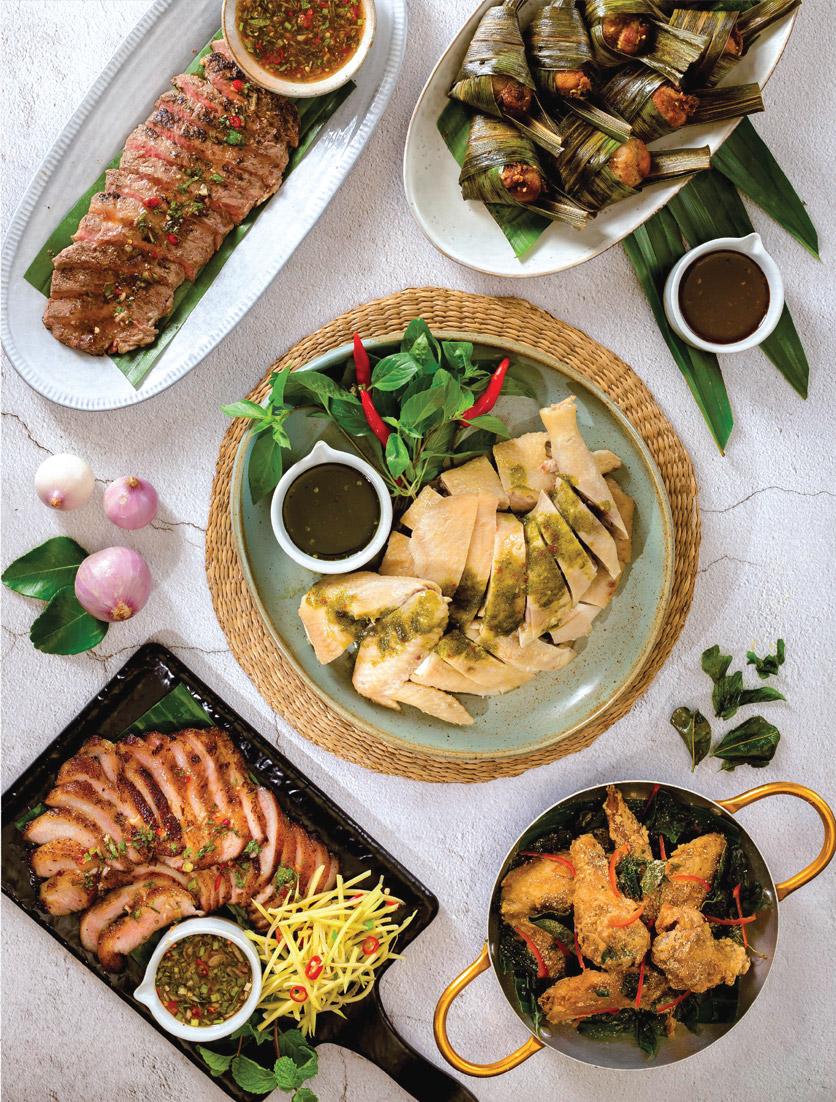 Menu Bếp Thái Koh Yam - Thái Hà 2