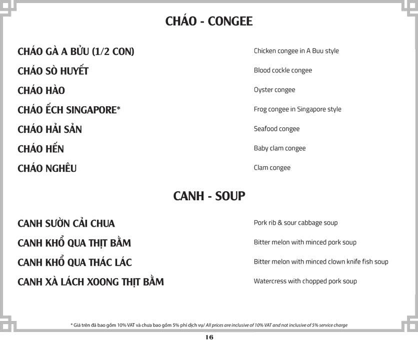 Menu A Bửu Sài Gòn - Bùi Thị Xuân  17