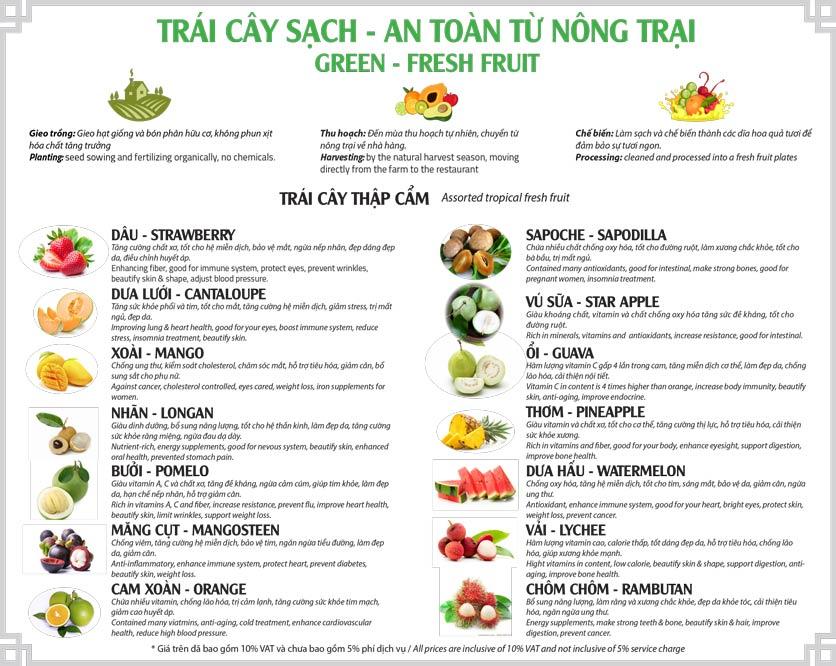 Menu Cơm Niêu Sài Gòn – Tú Xương  4