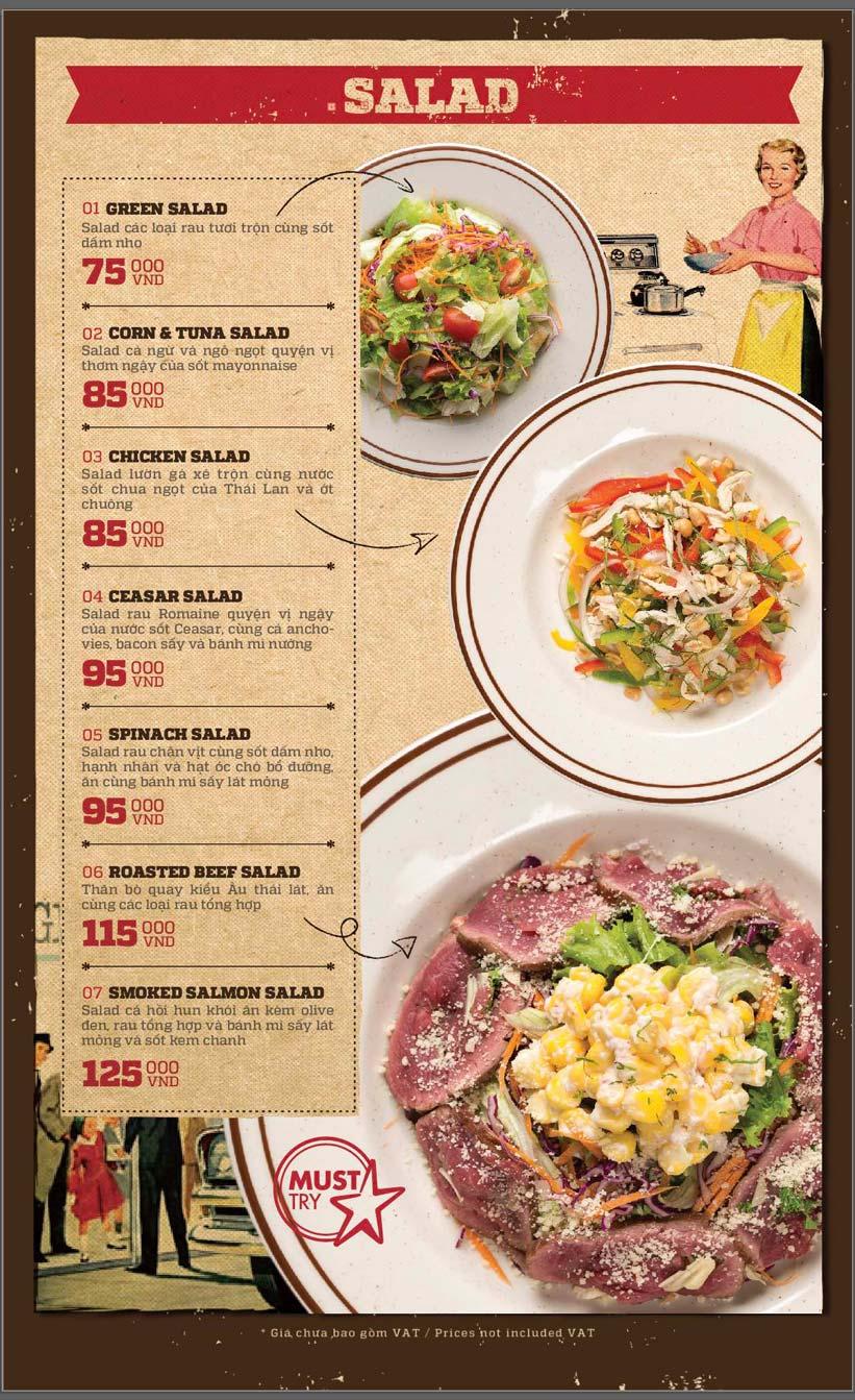 Menu Cowboy Jack's American Dining - Mipec Tây Sơn 10