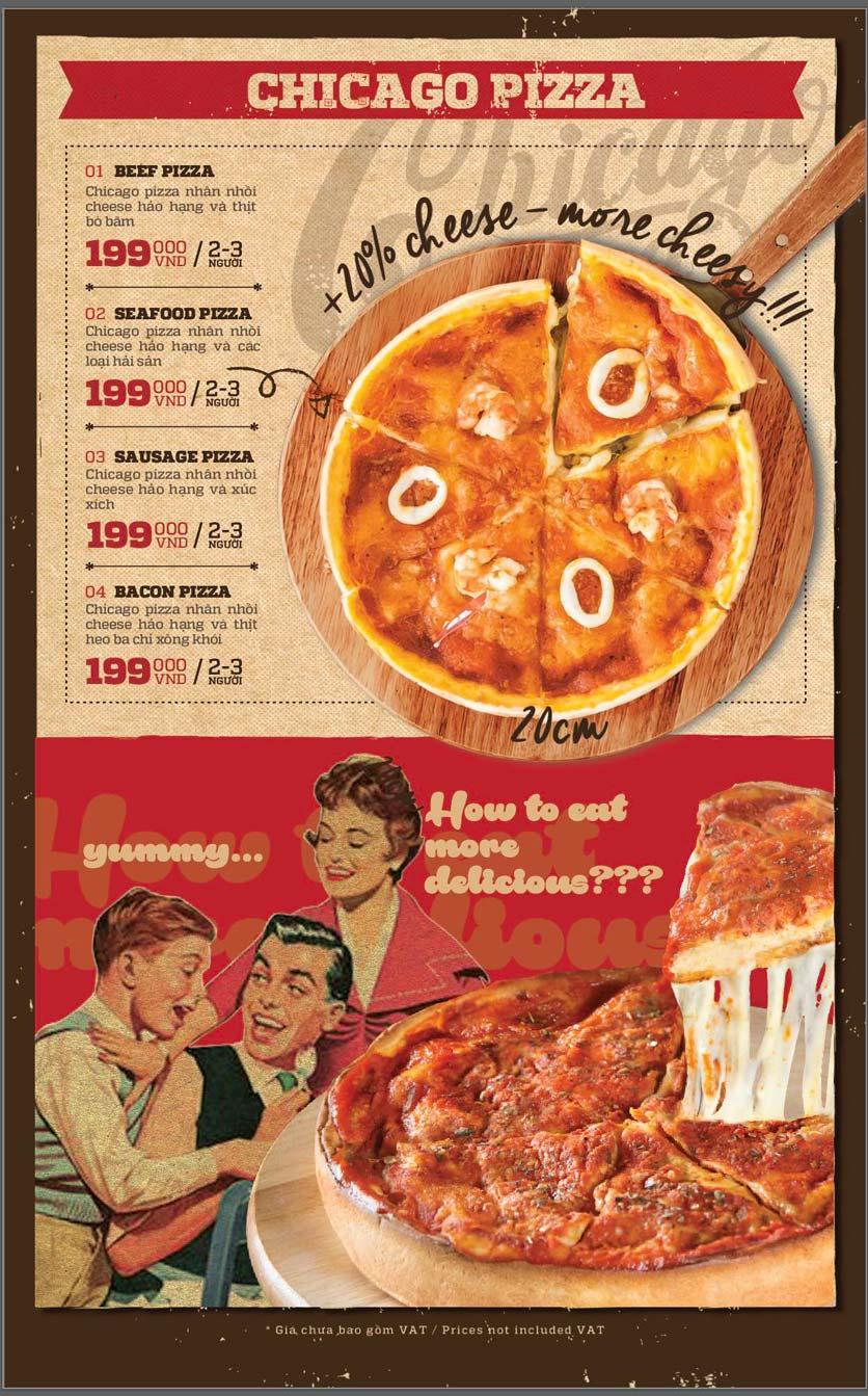 Menu Cowboy Jack's American Dining - Mipec Tây Sơn 13