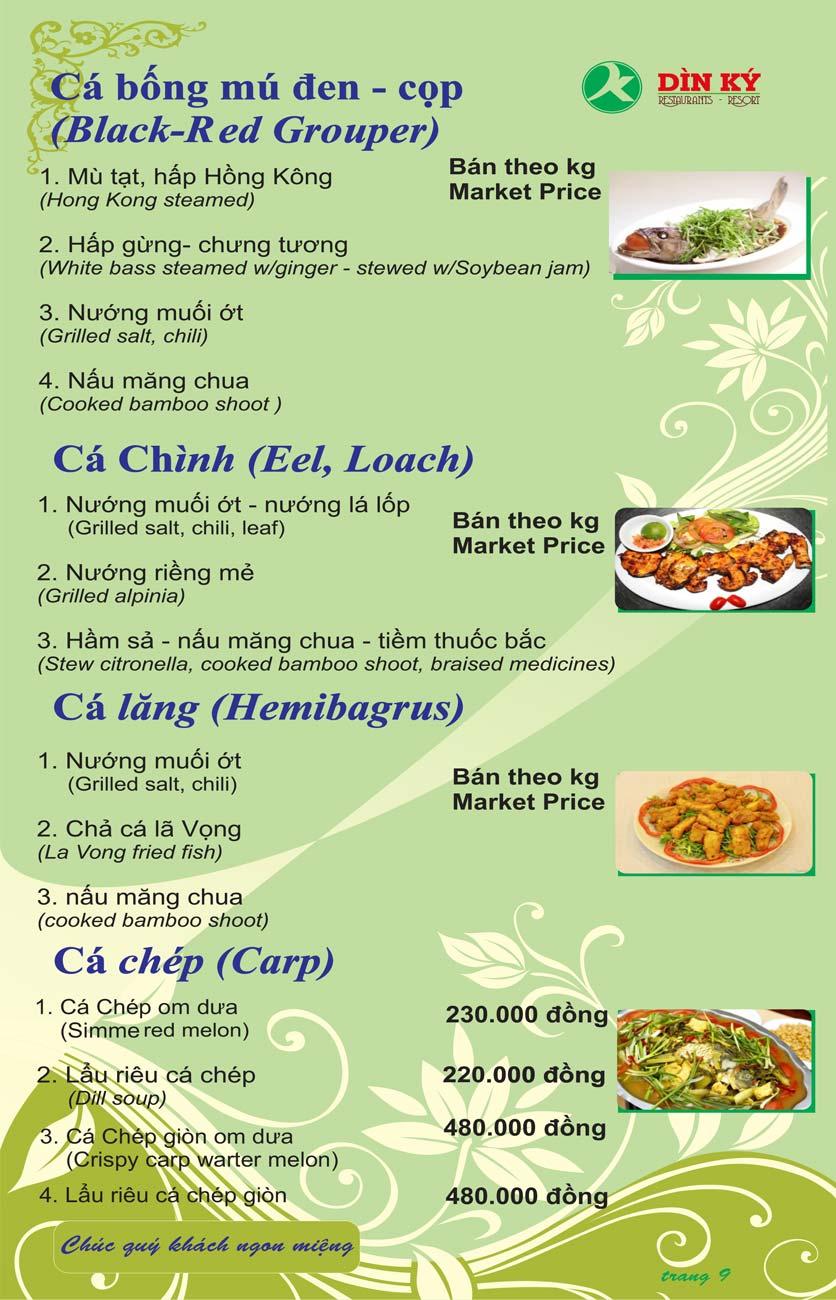 Menu DK BBQ & Hotpot Buffet - Hồng Hà  18