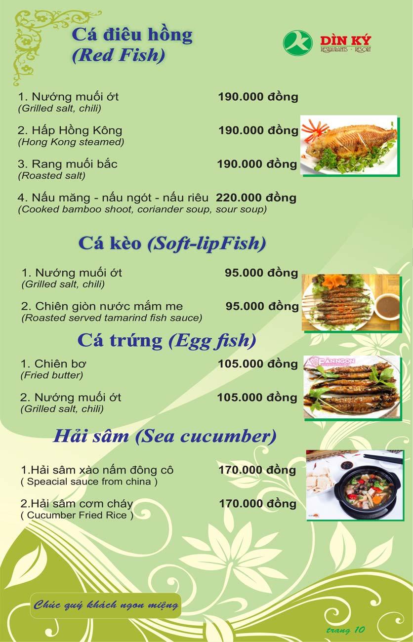 Menu DK BBQ & Hotpot Buffet - Hồng Hà  19