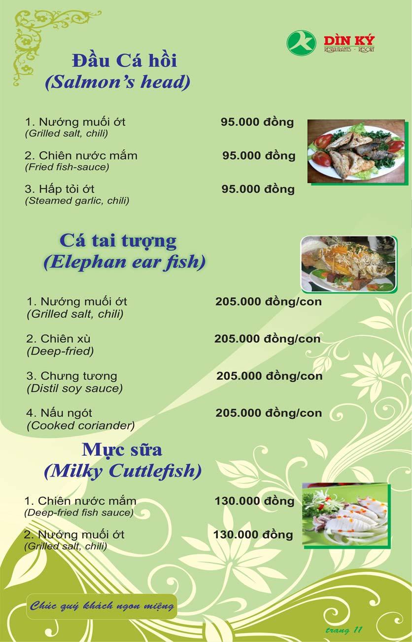 Menu DK BBQ & Hotpot Buffet - Hồng Hà  20