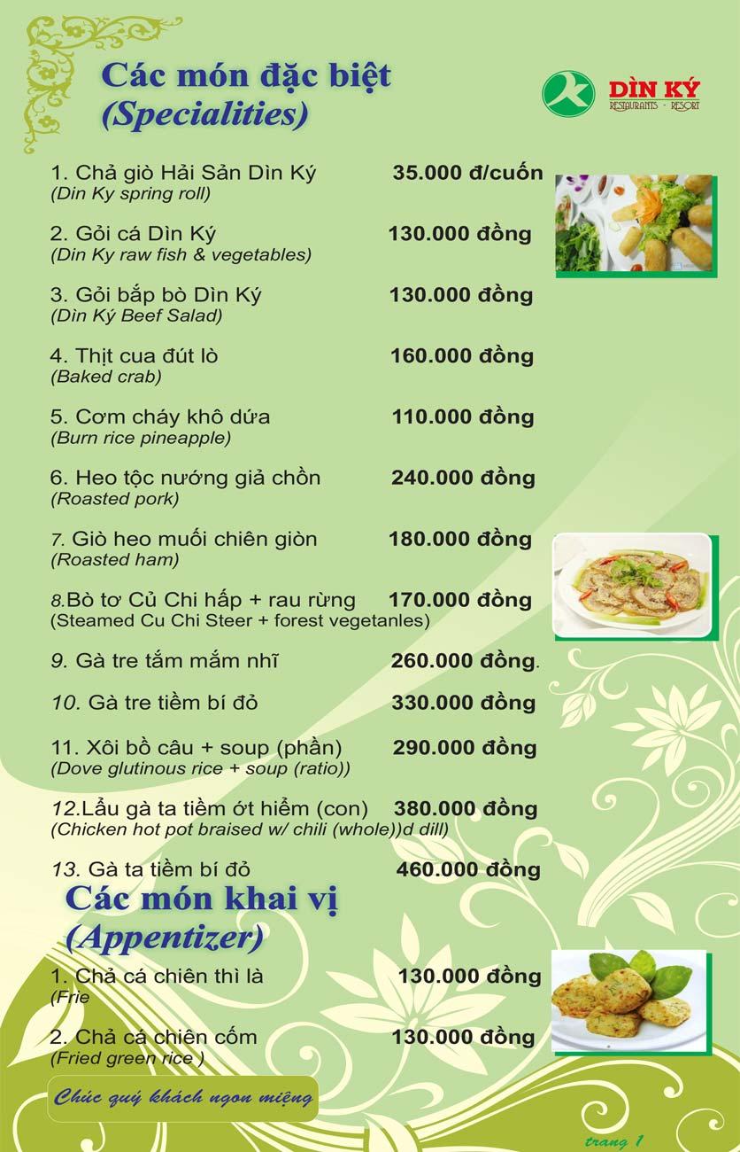 Menu DK BBQ & Hotpot Buffet - Hồng Hà  10