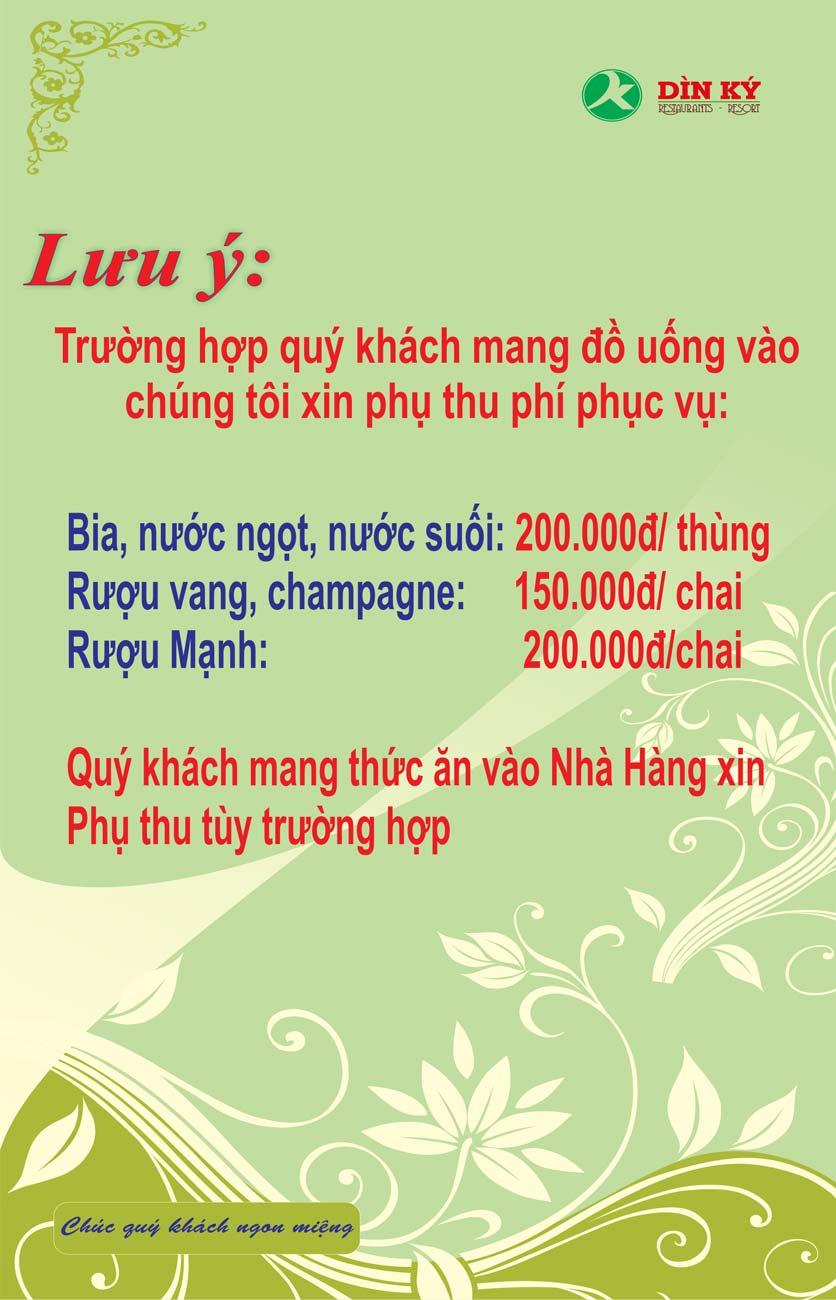 Menu DK BBQ & Hotpot Buffet - Hồng Hà  38
