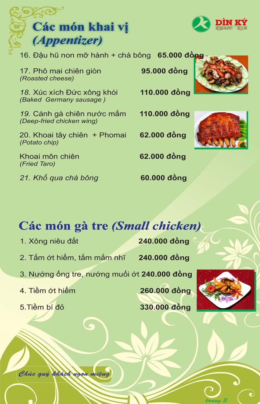 Menu DK BBQ & Hotpot Buffet - Hồng Hà  12