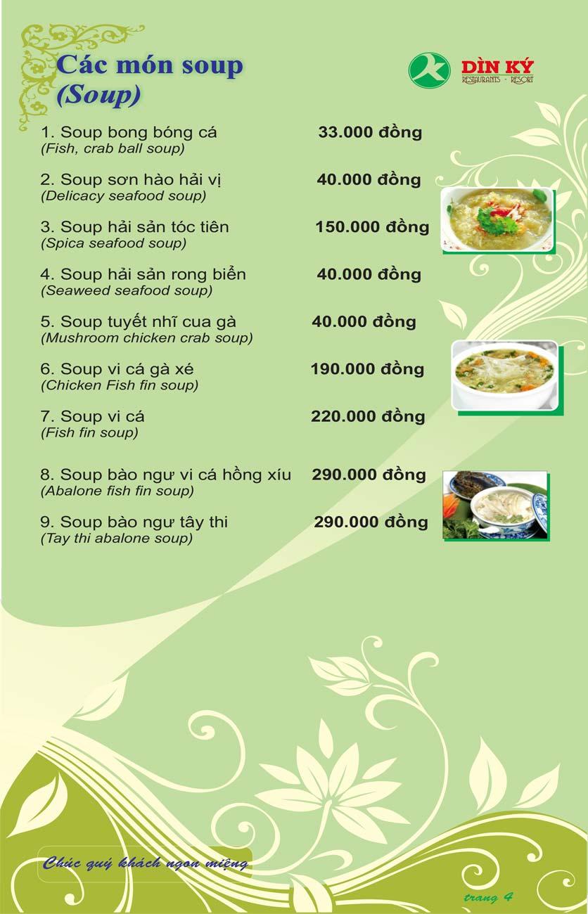 Menu DK BBQ & Hotpot Buffet - Hồng Hà  13