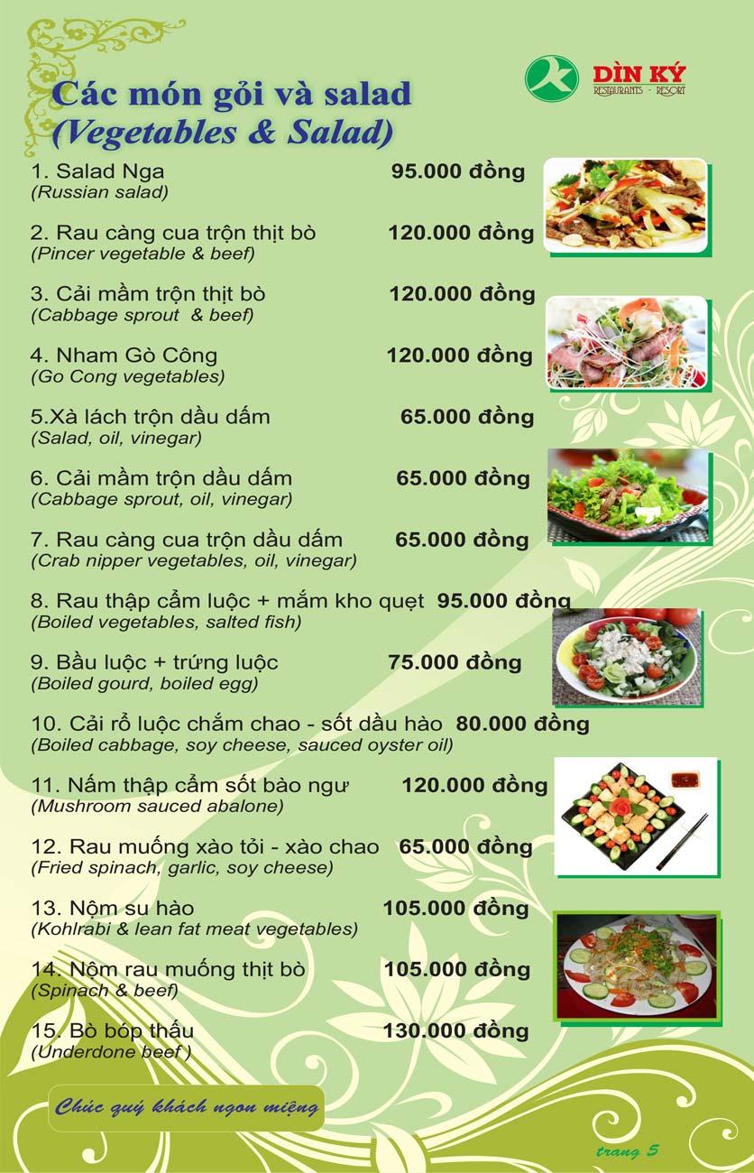 Menu DK BBQ & Hotpot Buffet - Hồng Hà  14