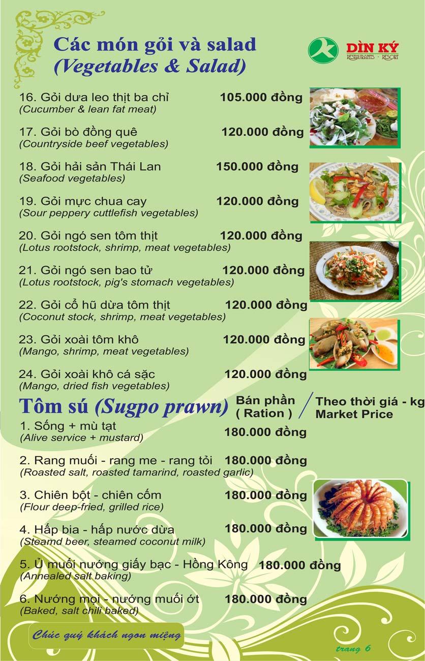 Menu DK BBQ & Hotpot Buffet - Hồng Hà  15