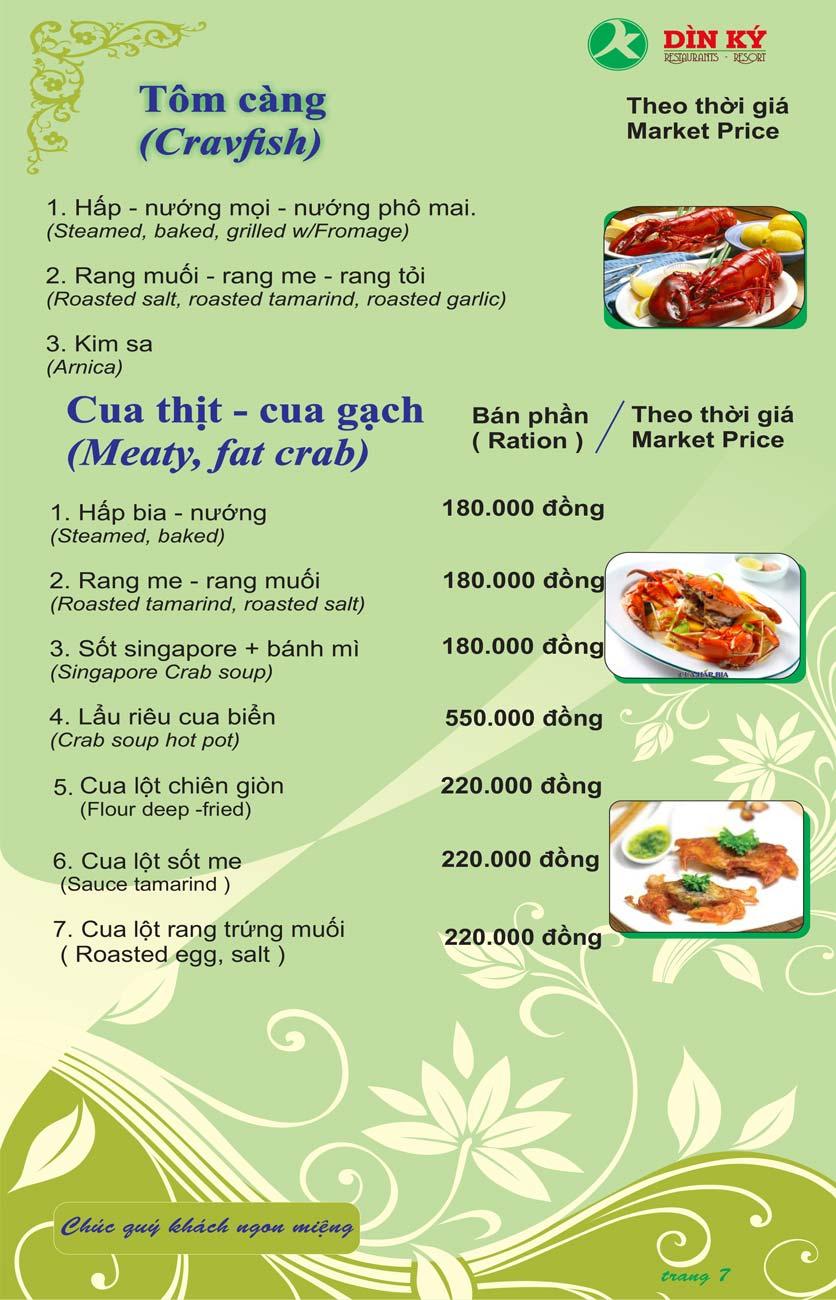 Menu DK BBQ & Hotpot Buffet - Hồng Hà  16