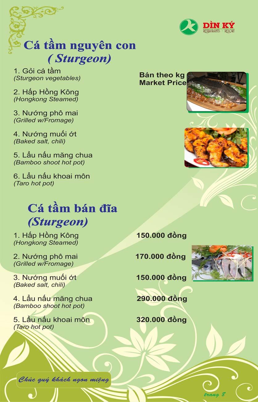 Menu DK BBQ & Hotpot Buffet - Hồng Hà  17