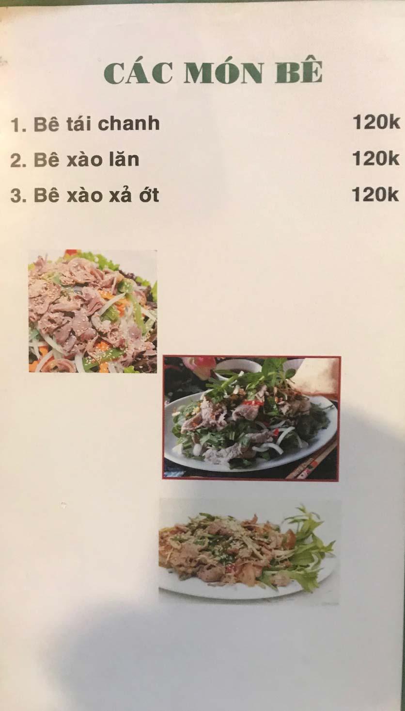 Menu Hoa Sữa - Thanh Liệt 7