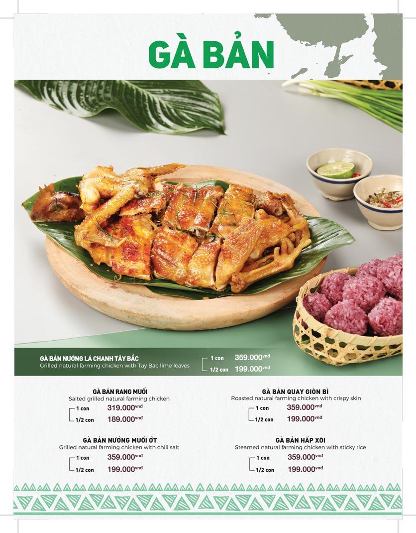 Menu Lạc Cầm Viên - Nguyễn Thị Thập 11