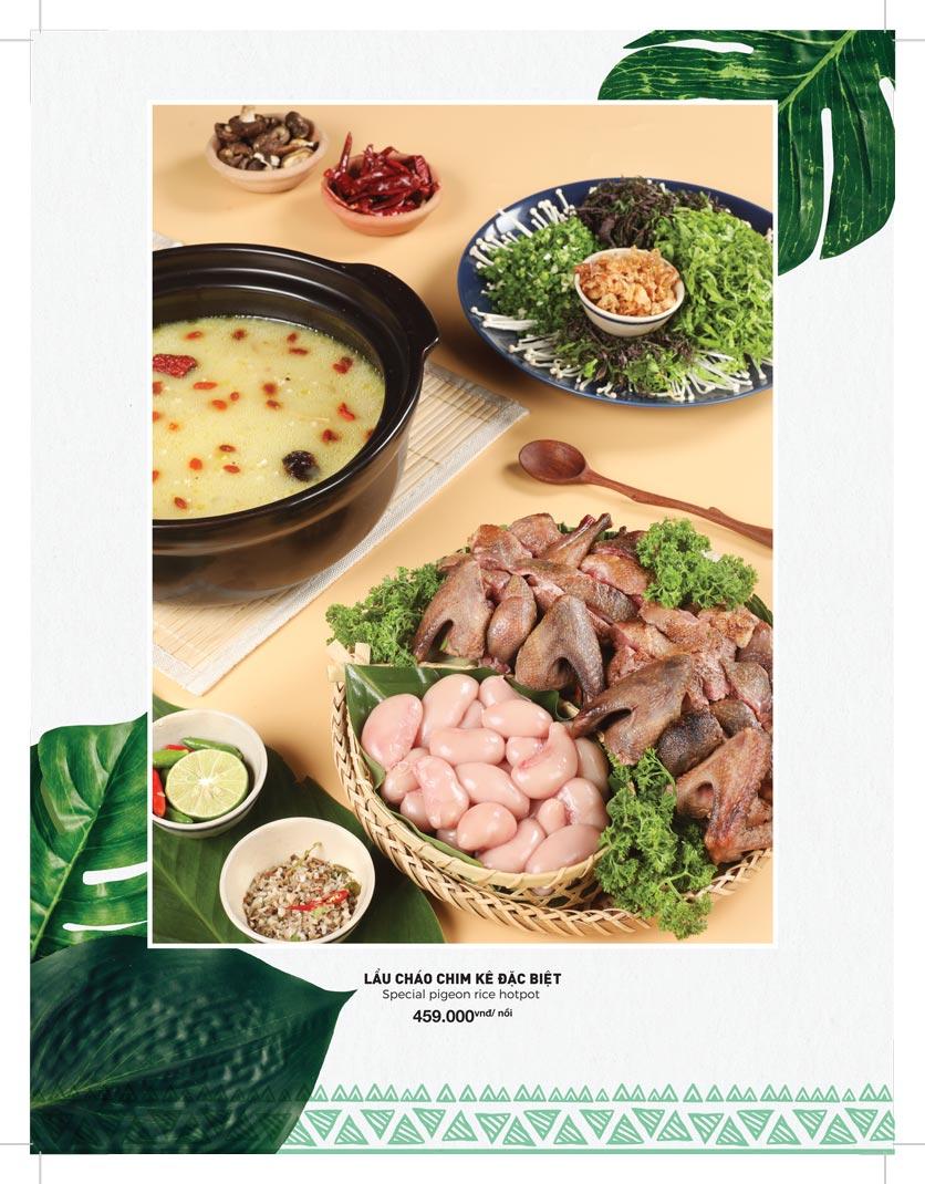 Menu Lạc Cầm Viên - Nguyễn Thị Thập 16