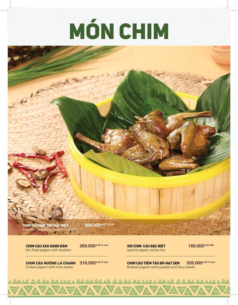 Menu Lạc Cầm Viên - Nguyễn Thị Thập 8
