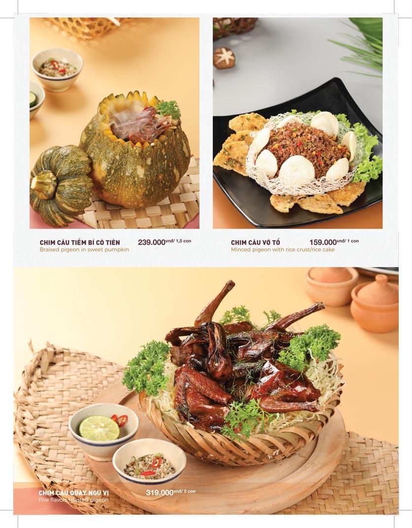 Menu Lạc Cầm Viên - Nguyễn Thị Thập 9