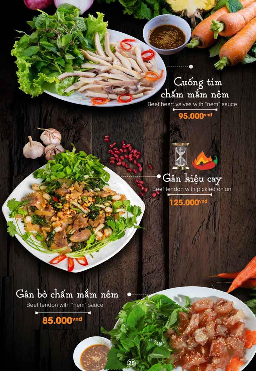Menu Nét Huế - Trần Duy Hưng 17