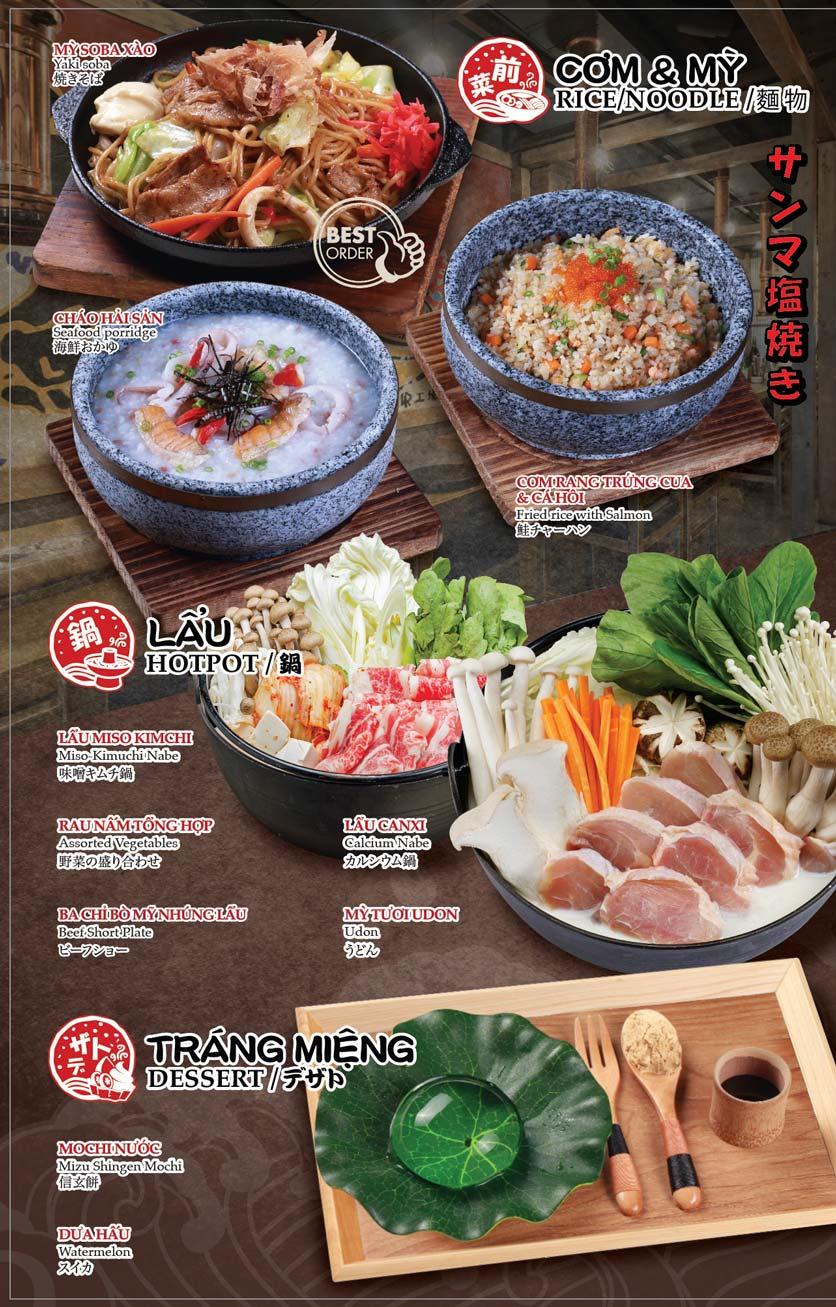 Menu Shogun – Phạm Ngọc Thạch 5
