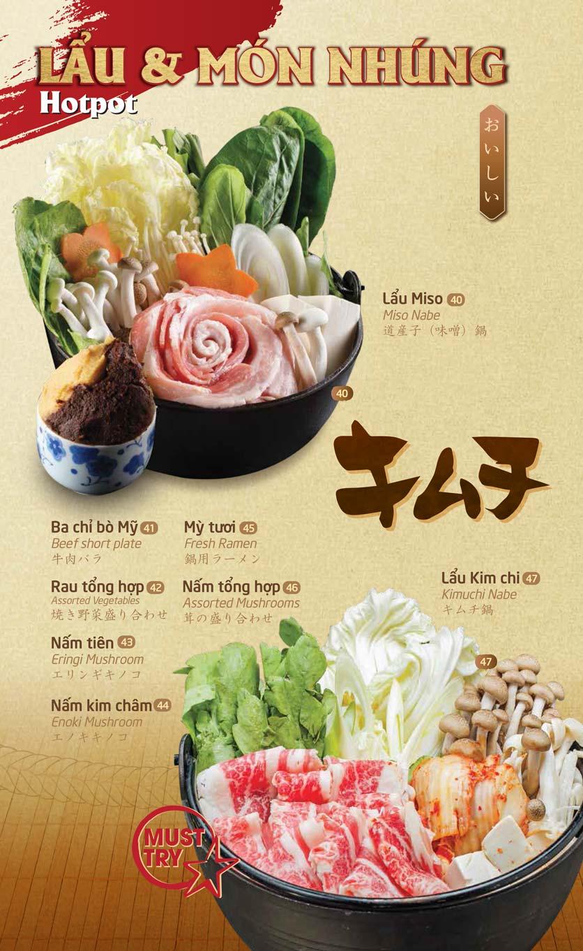 Menu SumoBBQ - Trần Duy Hưng 15