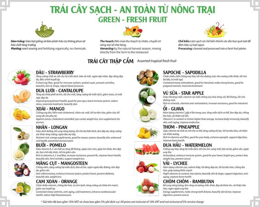 Menu Tân Hải Vân – Phan Văn Trị 3