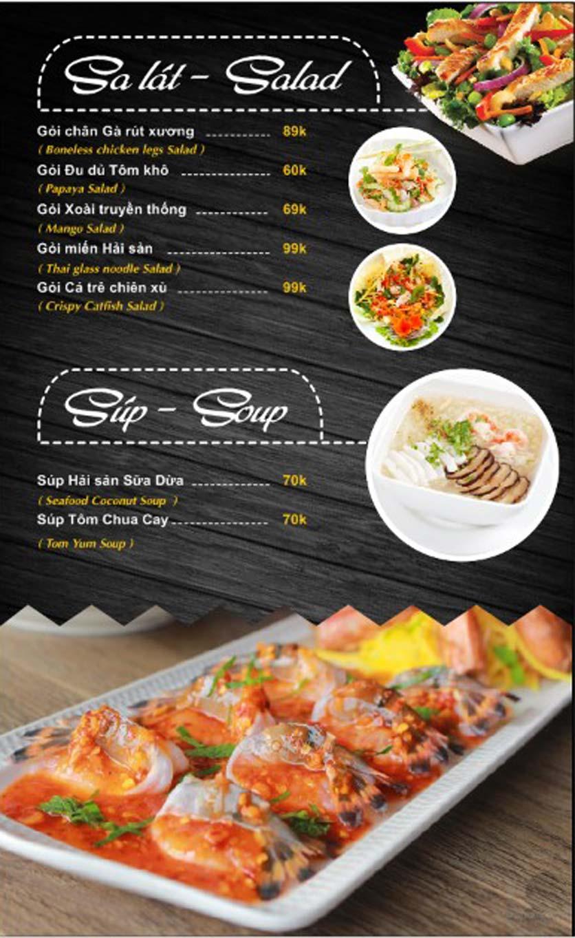 Menu Thái Food - Phan Đình Phùng 3