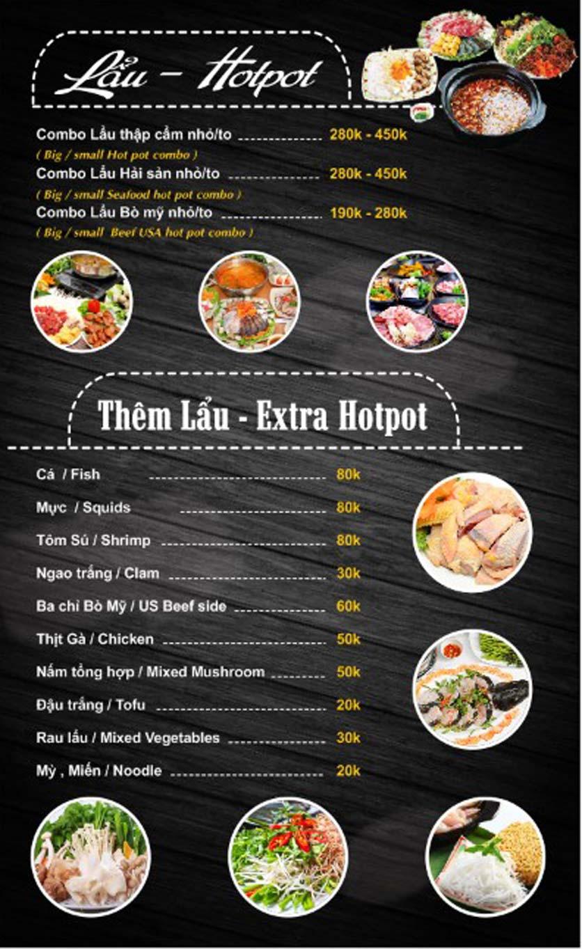 Menu Thái Food - Phan Đình Phùng 6
