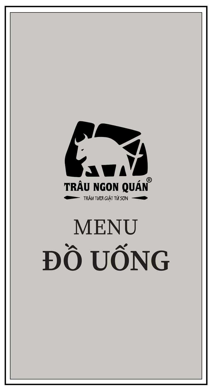 Menu Trâu Ngon Quán -  Hà Đông 9