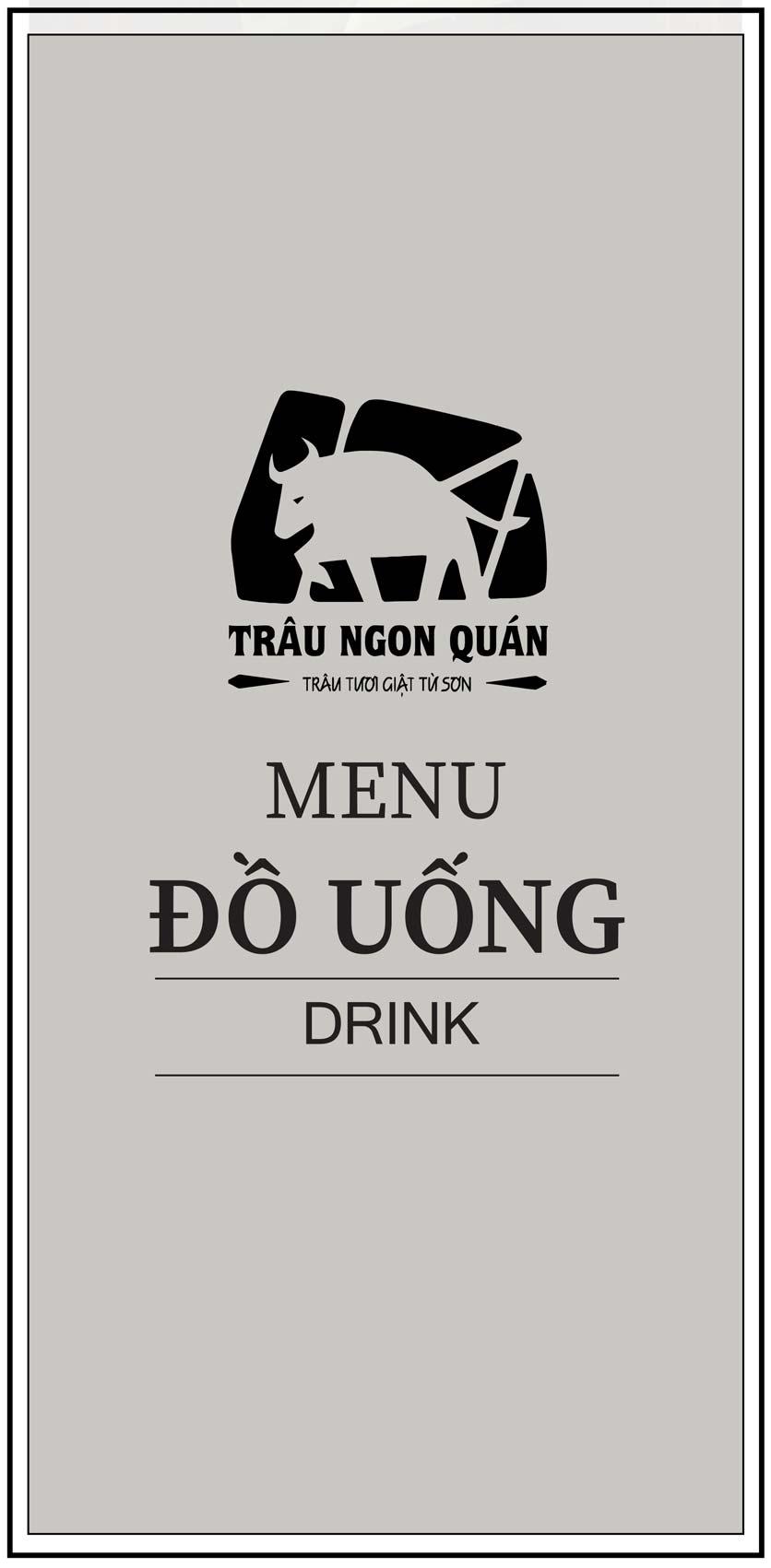 Menu Trâu Ngon Quán -  Hoàng Đạo Thúy 9