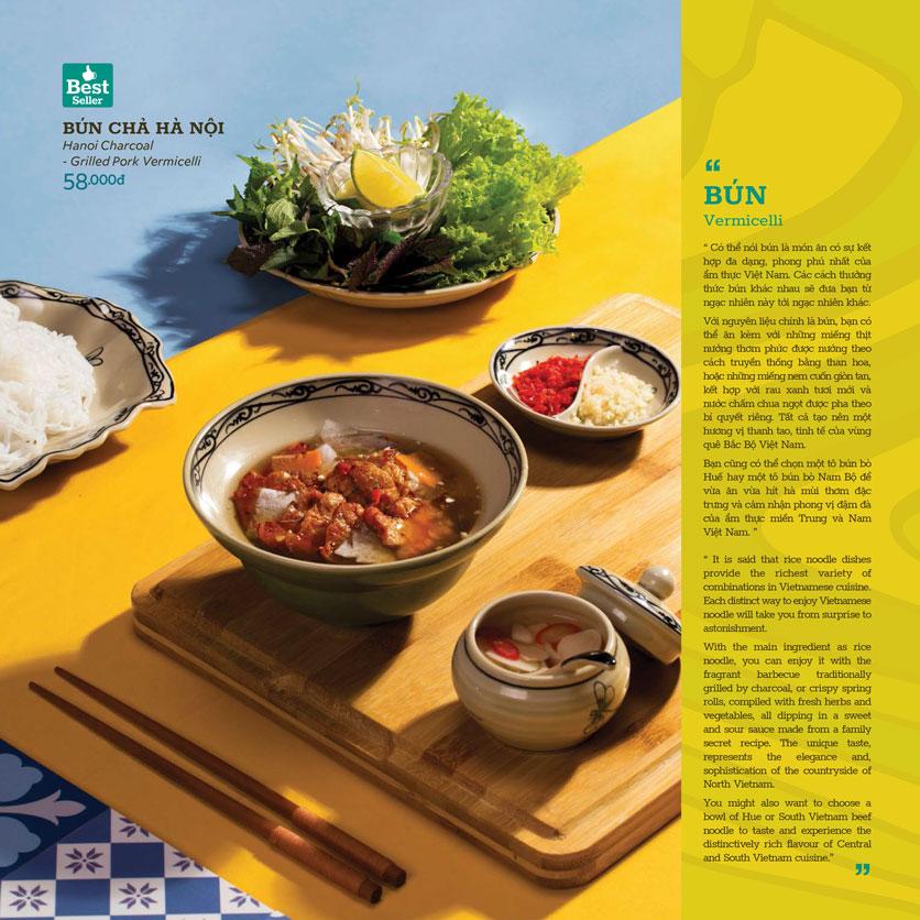 Menu Truly Việt - Duy Tân 3