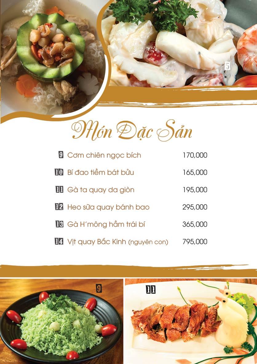 Menu Uni Beer Restaurant - Hoàng Sa 2