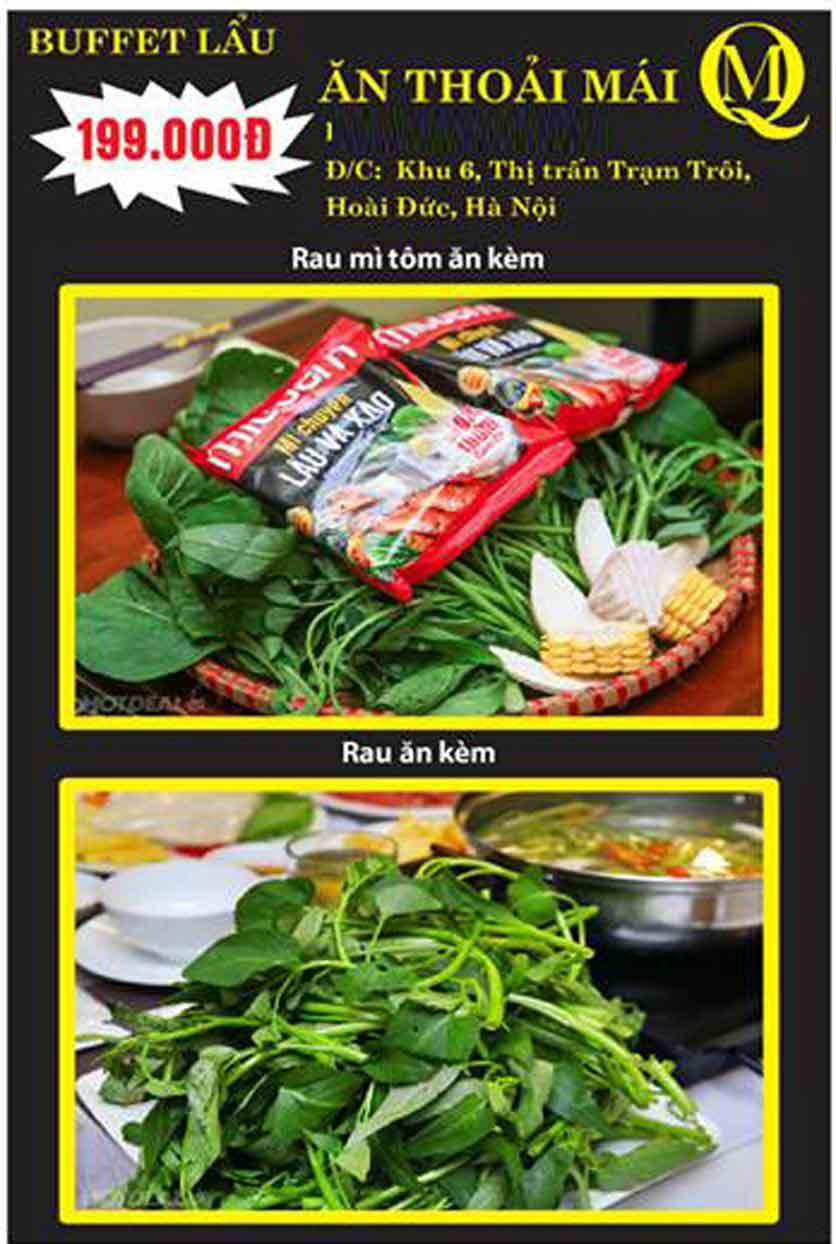 Menu Koishi BBQ - Đại Từ 1
