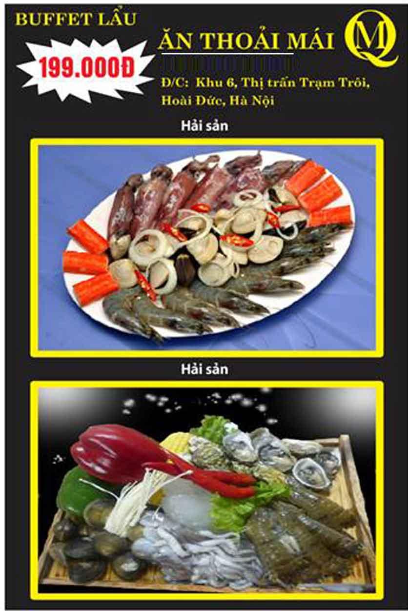 Menu Koishi BBQ - Đại Từ 2